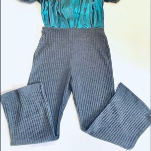 ZARA HOLIDAY Cropped Pants